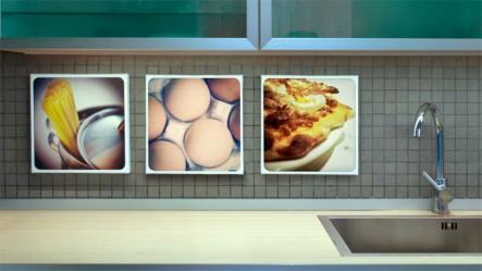 Grupo Lienzos 30x30 Instagram Cocina