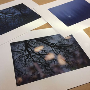 Printed works on Hahnemühle Photo Rag