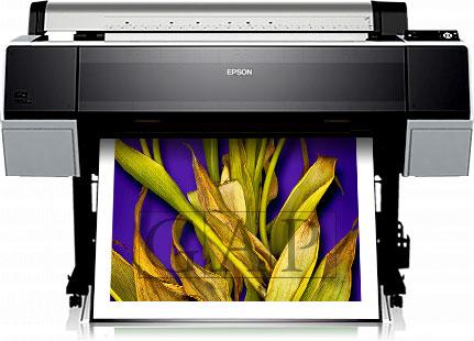 Faqs giclee. Impresora Epson Stylus Pro 9890 en las instalaciones giclee de GraficArtPrints