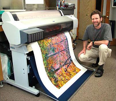 Proceso Impresión giclée © Joseph Holmes