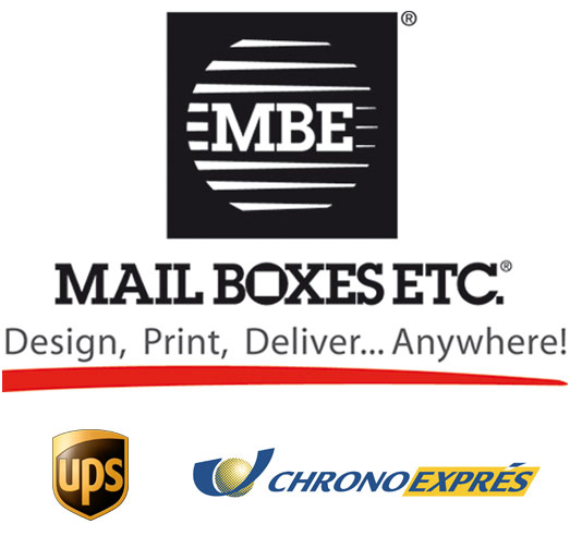 Shipping Giclée Prints by MailBoxes: Ups and Chronoxpress
