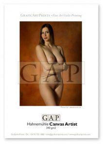 Muestra fotografía impresa en giclée sobre lienzo Hahnemühle Canvas Artist por GraficArtPrints. © Jesús Coll