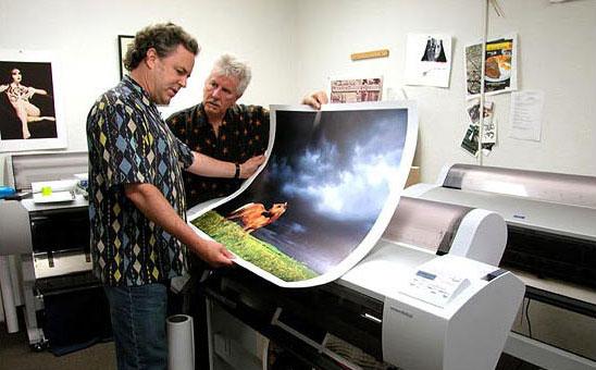 Proceso Impresión giclée © Nash Editions