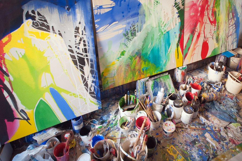 """Exposició """"Estrats. Continuitat i variacions"""", de Quim Corominas"""